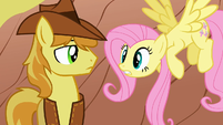 Braeburn and Fluttershy S1E21