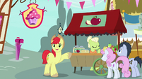 Bright Mac notices Pear Butter across the street S7E13