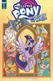 Legends of Magic issue 1 cover A