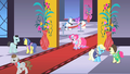 Pinkie Pie smiling on the red carpet S1E26.png
