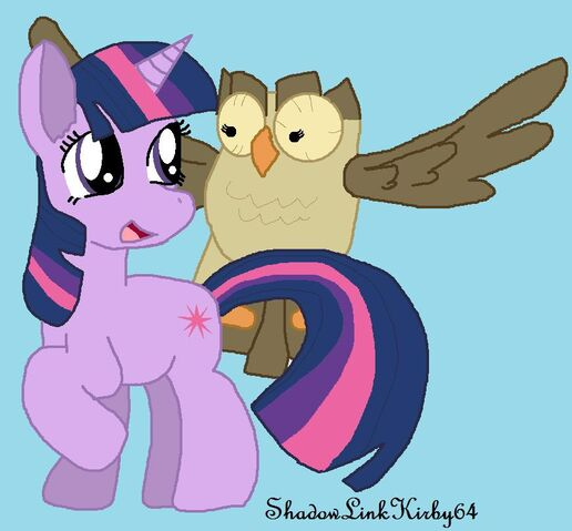 File:FANMADE Twilight and Owlowiscious.jpg