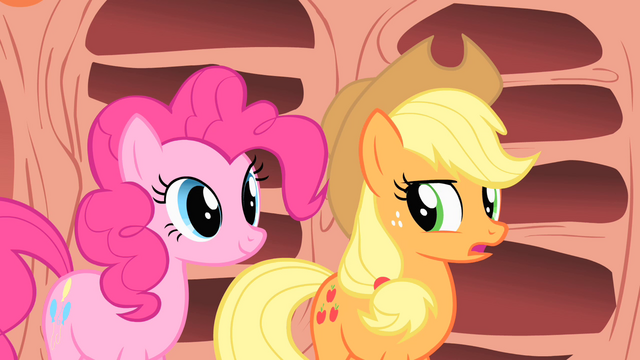 "File:Applejack ""How did you do that?"" S1E16.png"