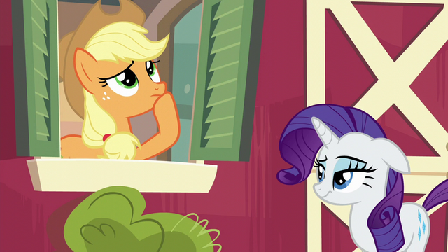 File:Applejack thinking for a moment S6E10.png