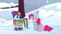 """Pinkie considers an """"it's about time!"""" party S5E5.png"""