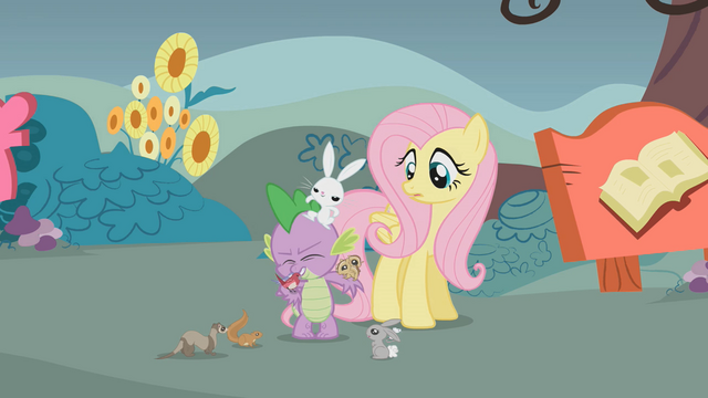 File:Angel keeps on tapping Spike's head S1E7.png