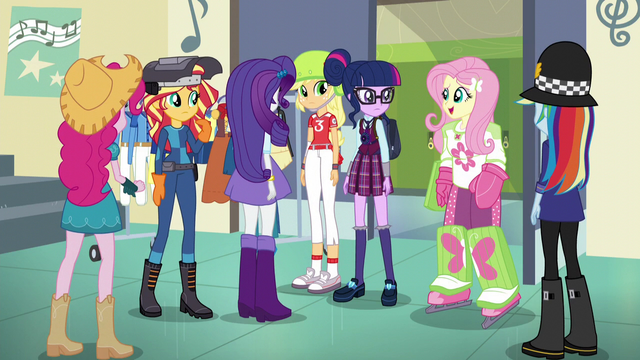 "File:Fluttershy ""Your uniform for what?"" EG3.png"