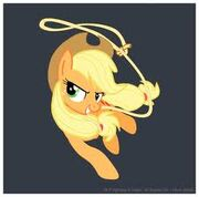 FANMADE Applejack with lasso
