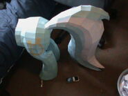 FANMADE Lyra papercraft incomplete scale