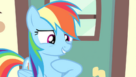 "Rainbow Dash ""who here besides me"" S4E24"