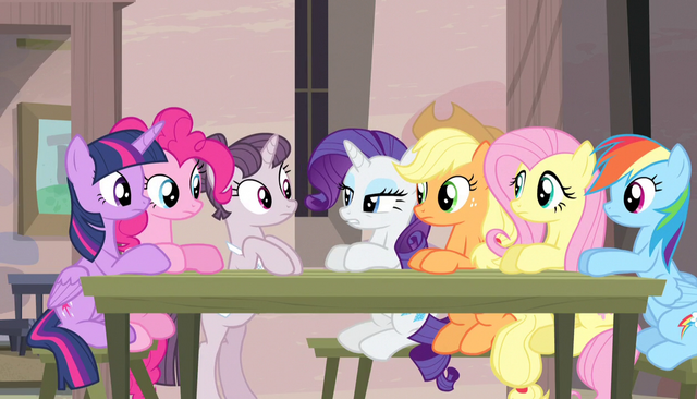"File:Rarity ""this is hardly the time for jokes"" S5E1.png"