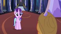 "Starlight Glimmer to Applejack ""super!"" S6E21"
