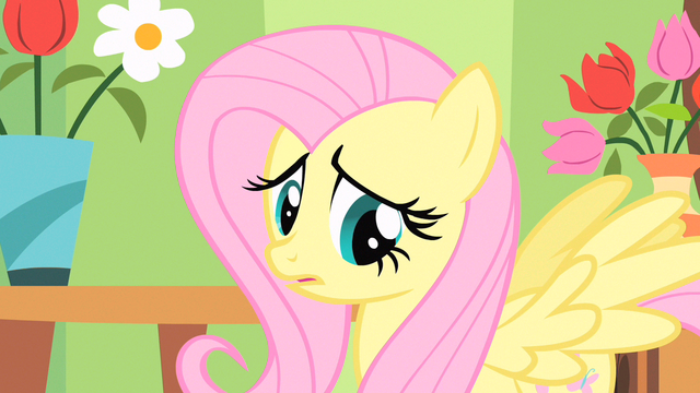 File:Fluttershy thinking S1E20.png