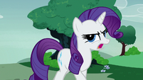 "Rarity ""the designers have dropped out!"" S7E9"