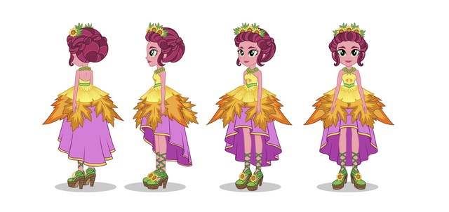 File:Legend of Everfree - Crystal Gala Gloriosa Daisy turnaround by Madison Tuff.png