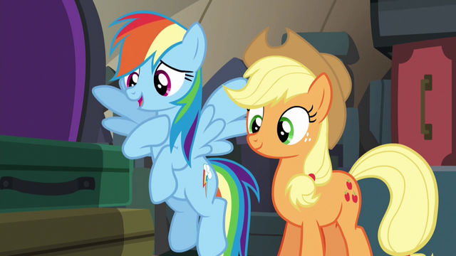 "File:Rainbow Dash ""we can't take on Braeburn"" S6E18.png"