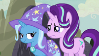 Starlight Glimmer still nervous about the festival S6E25