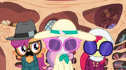 Cutie Mark Crusaders in disguise S4E15.png