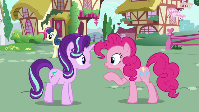 """File:Pinkie Changeling addresses Starlight as """"you"""" S6E25.png"""