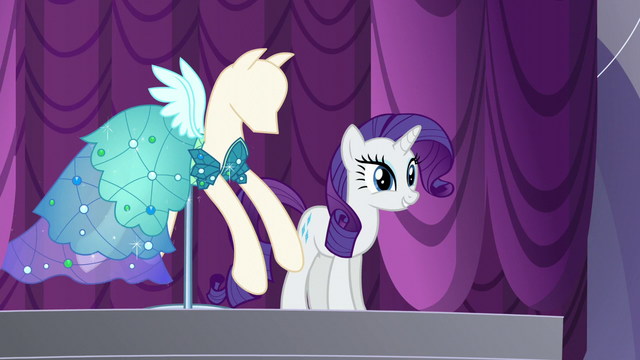 """File:Rarity """"and are ready to be presented!"""" S5E14.png"""