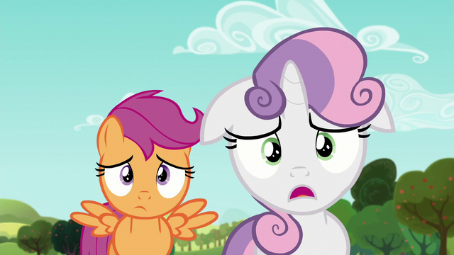 """File:Sweetie """"Your cousin who what now?"""" S5E17.png"""