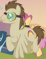 Crescent Moon rainbow cutie mark ID S02E22.png