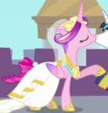 Princess Cadance wedding dress ID S2E26