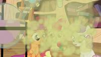 Smoke coming out S4E15