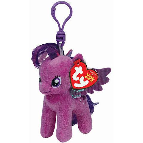 File:Twilight Sparkle Ty Beanie Baby keychain.jpg