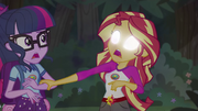 Sunset Shimmer has her first empathic vision EG4