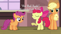 Apple Bloom 'Of course she'll wanna join the Cutie Mark Crusaders' S3E4.png