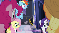 Main five watch Starlight Glimmer zoom away S6E21