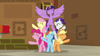 Mane Six finish singing Best Friends Until the End of Time S7E2