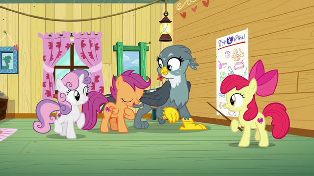 """File:Scootaloo singing """"you are here to find your purpose"""" S6E19.png"""