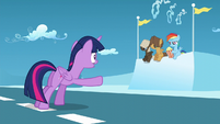 "Twilight ""You have to finish your race!"" S5E26"
