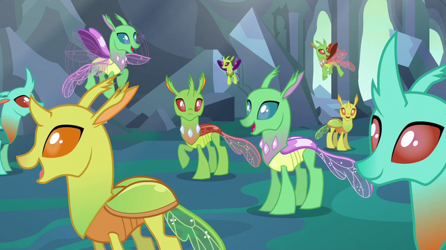 File:Changelings happy with their new forms S6E26.png