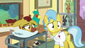 Dr. Fauna relieved by Fluttershy's offer to help S7E5.png