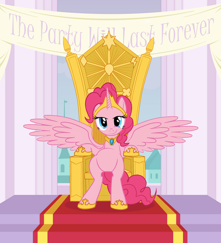 File:FANMADE Alicorn Pinkie Pie.png