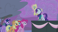 Fluttershy flies down S4E14