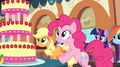 Pinkie looks at the Marzipan Mascarpone Meringue Madness S2E24.png