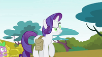"Rarity ""hasn't been utterly transformed"" S4E23"