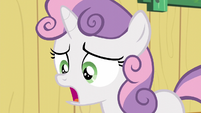 "Sweetie ""getting stuck with a cutie mark you didn't like?"" S5E04"