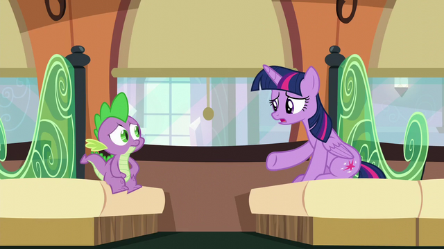 """File:Twilight """"I don't know, Spike"""" S6E2.png"""