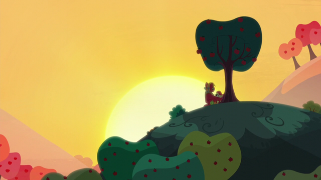 """File:Apple Bloom """"how do you think cousin Orchard Blossom"""" S5E17.png"""