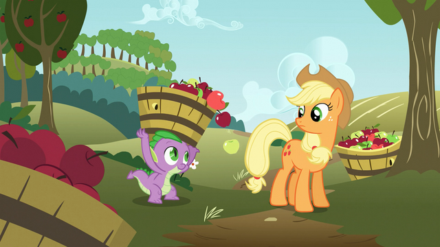 """File:Spike """"it's the least I can do!"""" S03E09.png"""