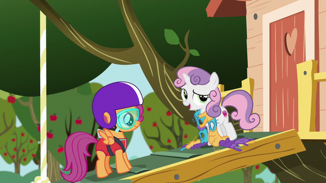 File:Sweetie Belle imitating Rarity S6E4.png