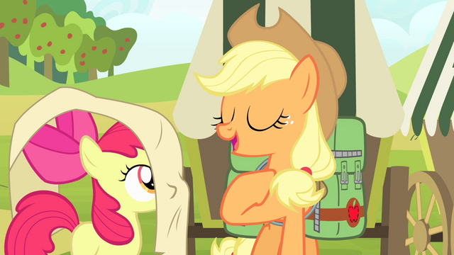 """File:Applejack """"Just a little list of helpful reminders"""" S4E17.png"""