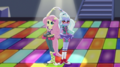 Fluttershy and Sugarcoat on dance floor EGS1.png