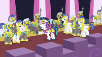 Shining Armor, Captain of the Royal Guard S02E25