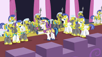 Shining Armor, Captain of the Royal Guard S02E25.png