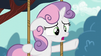 "Sweetie ""Who knew there were so few ponies worried about their cutie marks?"" S6E4"